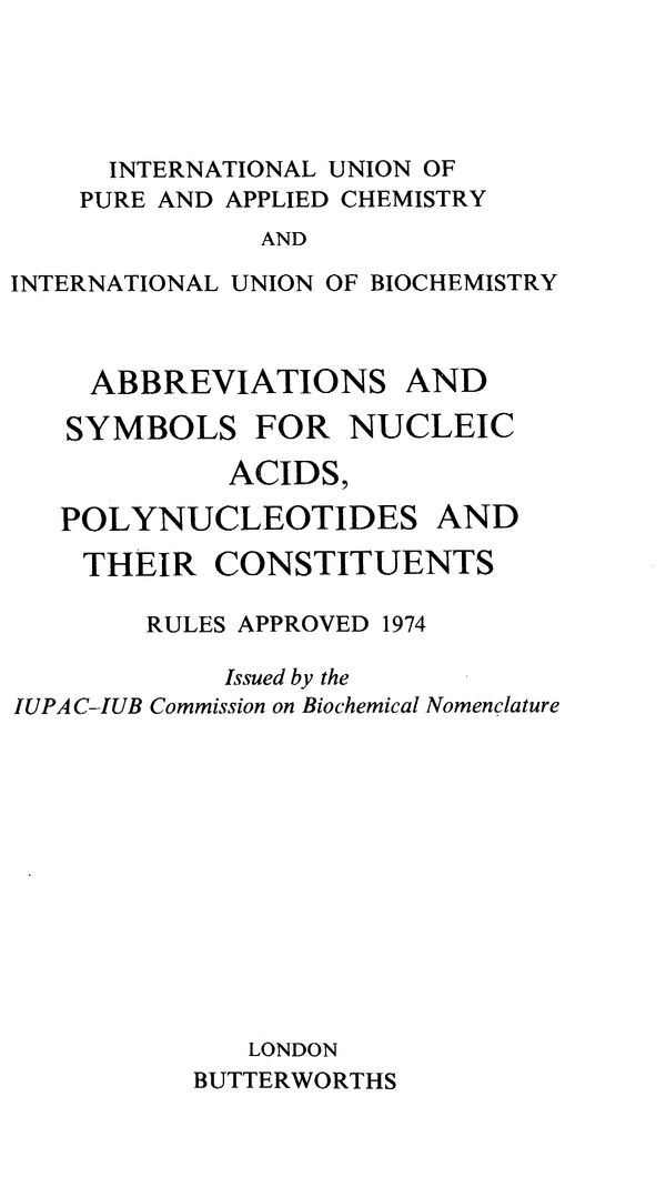 Pure And Applied Chemistry 1974 Volume 40 No 3 Pp 277 331