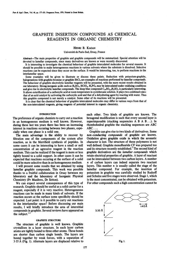 Pure and Applied Chemistry, 1976, Volume 46, No  2-4, pp