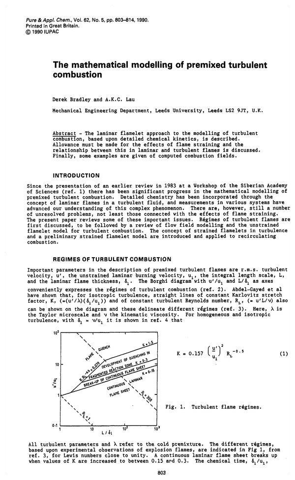 Pure and Applied Chemistry, 1990, Volume 62, No  5, pp  803-814